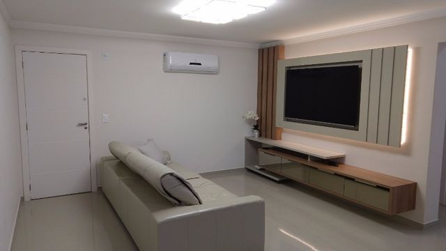Apartamento à 300m mar com 02 dorms, novo, excelente mobilia!!! - Foto 3