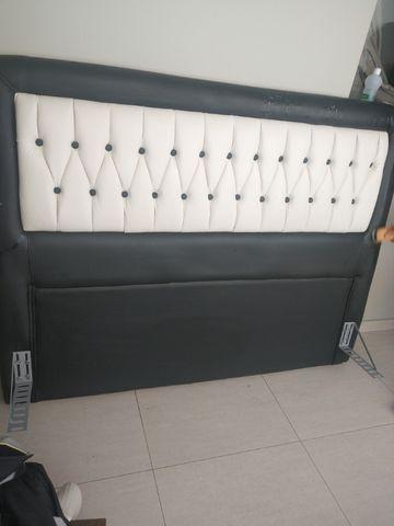 Cabeceira para cama box ( Tipo 1,58 x 1,98 m - Queen Size ) - Foto 2