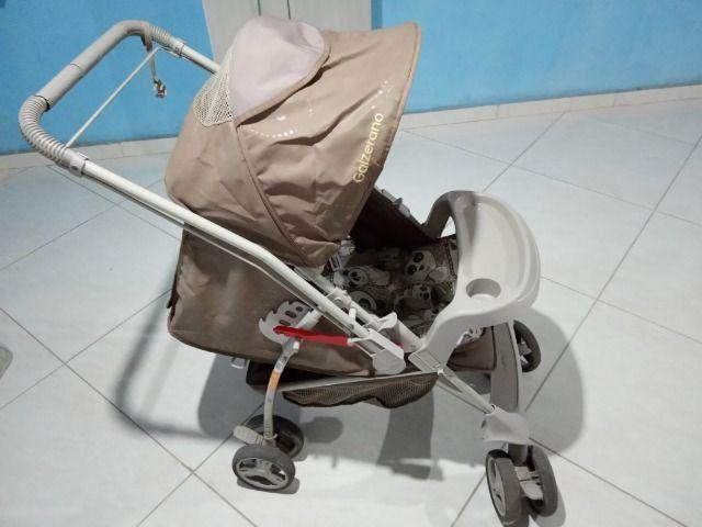 Vendo carrinho de bebê Galzerano - Foto 3