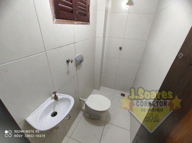 Bessa, 3 quartos, DCE, suíte, 95m², R$ 1.500 C/Cond, Aluguel, Apartamento, João Pessoa - Foto 12