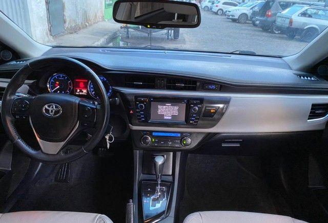 Corolla xli 2017 vendo ou troco e financio  - Foto 4