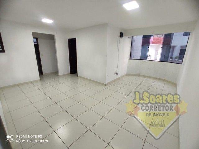 Bessa, 3 quartos, DCE, suíte, 95m², R$ 1.500 C/Cond, Aluguel, Apartamento, João Pessoa - Foto 2