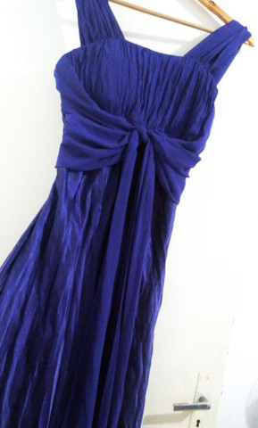 Vestido longo de festa azul  - Foto 2