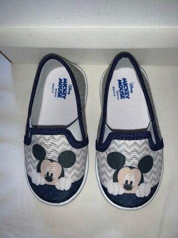 Tênis Iate Mickey Baby Menino Novo na caixa
