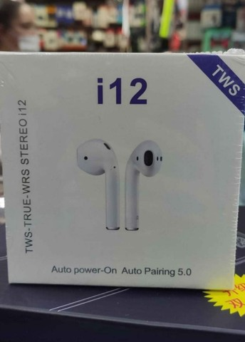 Fone de ouvido Bluetooth i12