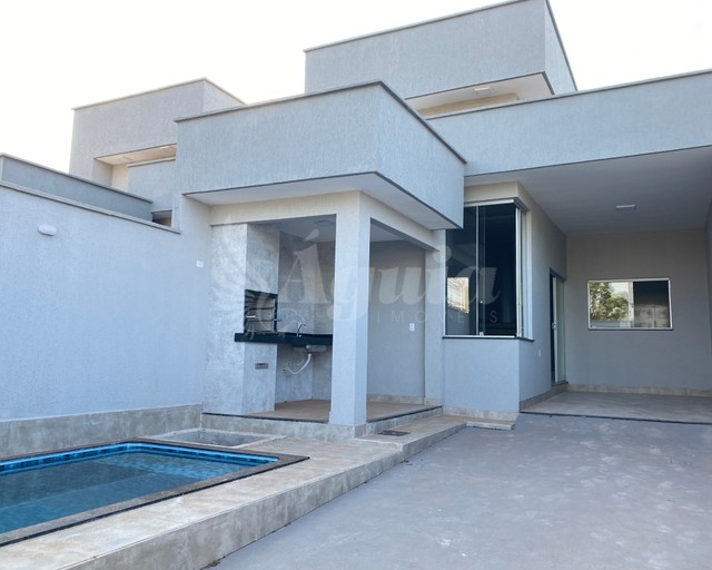 Casa com 3 quartos, piscina e área gourmet - Vila Pedroso, Goiânia - Foto 8