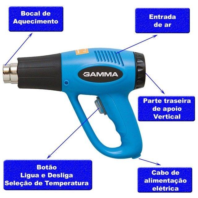 Soprador Térmico 2000w - Gamma G1935 220v - Foto 6