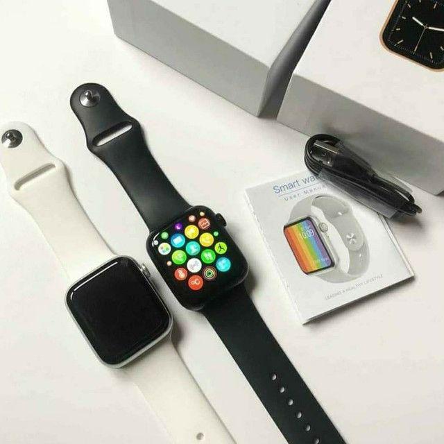 Relógio smartwatch Iwo w26 (Leia)