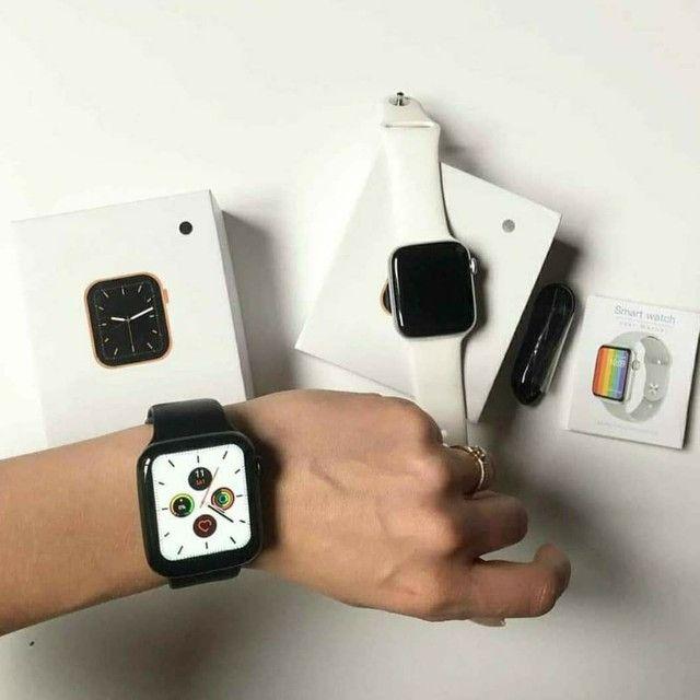 Relógio smartwatch Iwo w26 (Leia) - Foto 3