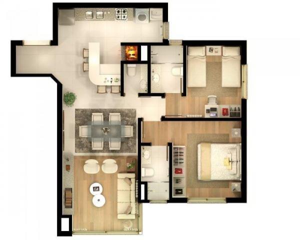 Apartamento com 2 dormitórios à venda, 86 m² por r$ 873.690,41 - bavária - gramado/rs - Foto 12