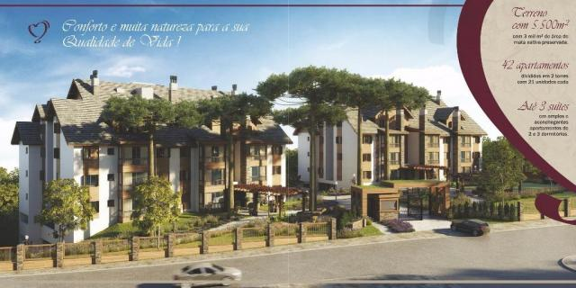 Apartamento com 2 dormitórios à venda, 86 m² por r$ 873.690,41 - bavária - gramado/rs - Foto 7