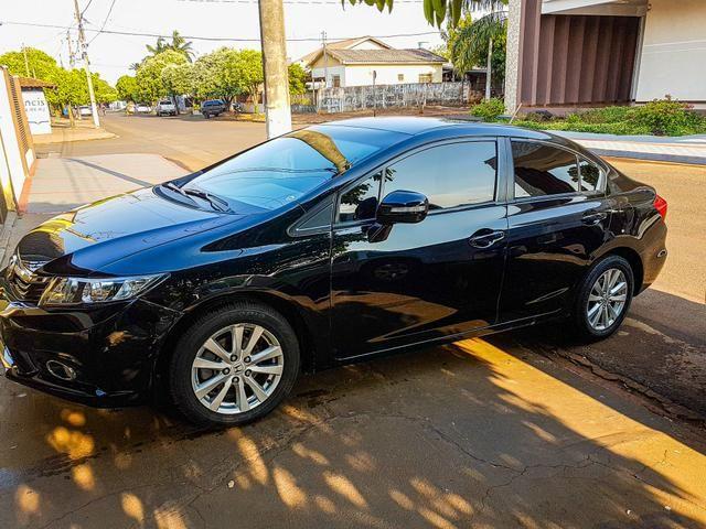Honda civic lxr 2014 flex one - Foto 3