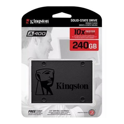 Hd Ssd Kingston A400 240gb 6gb/s Notebook Computador - Foto 3
