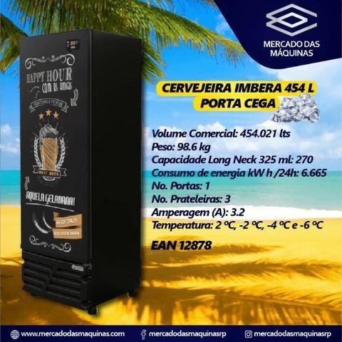 Imbera cervejeira 454L porta cega ou vidro