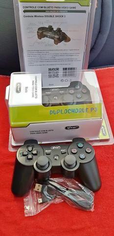 Playstation 3 Joystick sem Fio Original Knup (Loja na Cohab) Adquira Já!! - Foto 2