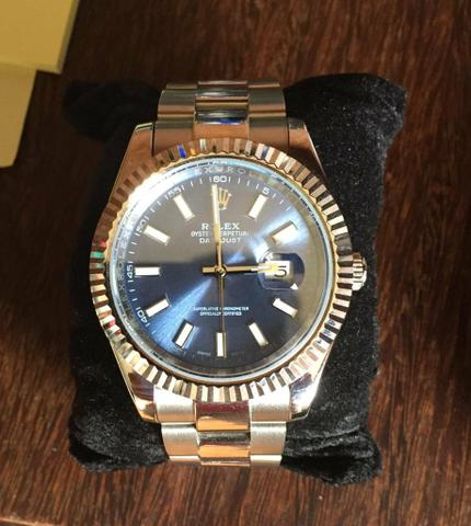 dad9dfc2423 Relogio rolex Datejust 41mm