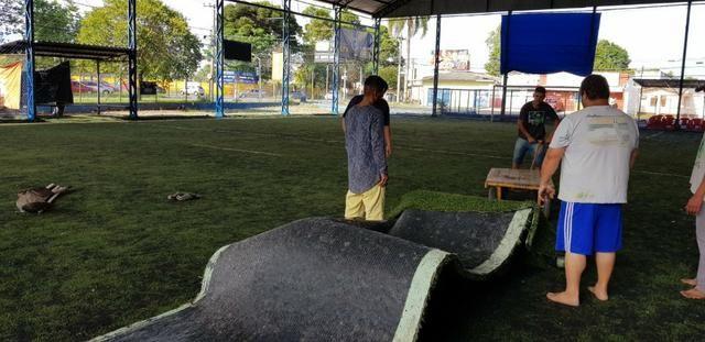 Vendo grama sintética futebol society