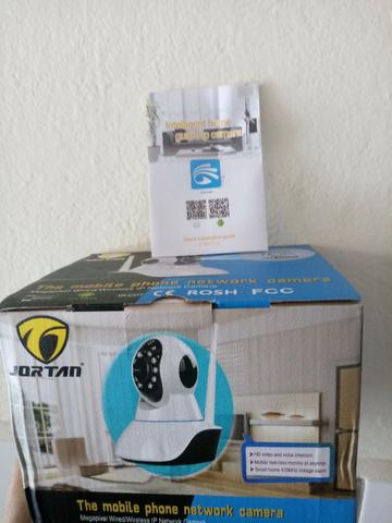 0d4d19da0 Câmera Ip Jl Protec Pantilt 1.0mp Ir-Cut Onvif - Hd - Wifi Com Áudio ...