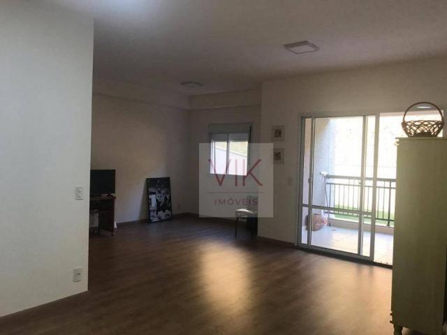 Apartamento com 2 dormitórios para alugar, 86 m² por r$ 2.400/mês - jardim ypê - paulínia/ - Foto 8