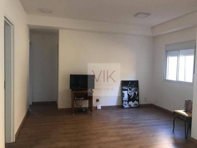 Apartamento com 2 dormitórios para alugar, 86 m² por r$ 2.400/mês - jardim ypê - paulínia/ - Foto 9