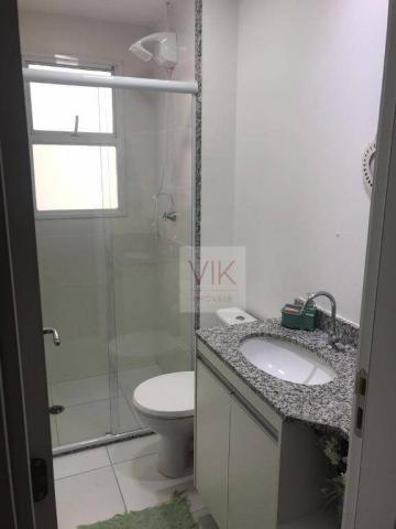 Apartamento com 2 dormitórios para alugar, 86 m² por r$ 2.400/mês - jardim ypê - paulínia/ - Foto 12