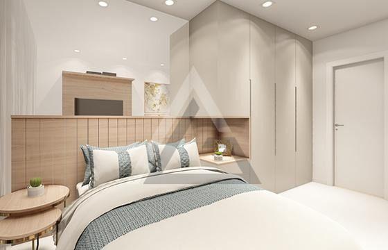Apartamento 2 quartos com suíte acesso à praia de Pedra do Sal - Itapuã - Foto 6