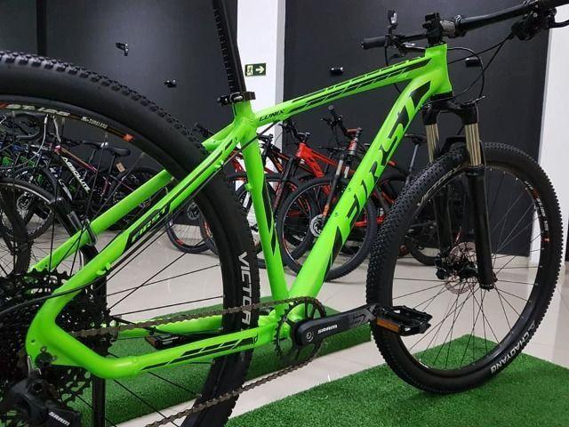 Bike aro 29 grupo sram 12v rockshok air