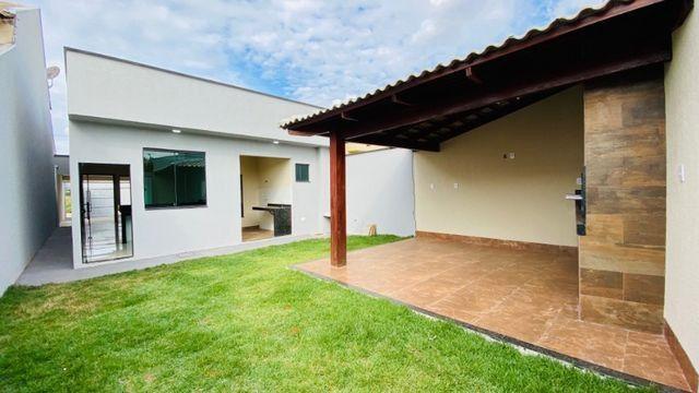 Casa Nova, Linda, Acabamento Impecável - 03Qtos, Quintal + Ampla Área Gourmet!! - Foto 11