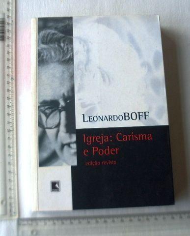 Livro Religioso - Igreja: Carisma e Poder - Leonardo Boff - 2005 - Foto 2