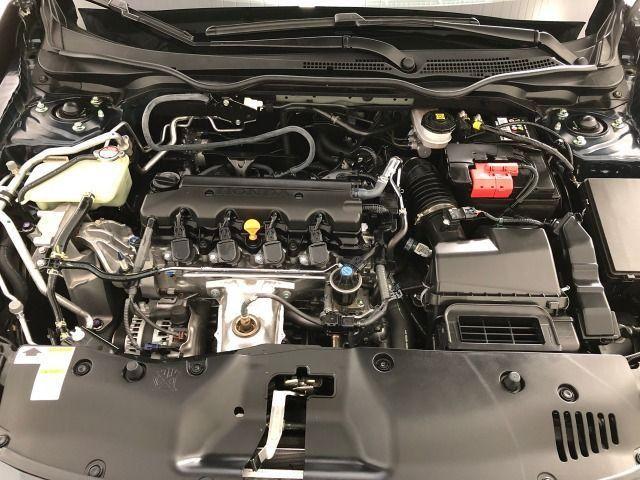 Honda Civic Lx 2.0 Cvt Flex Azul Cósmico Único dono - Foto 13