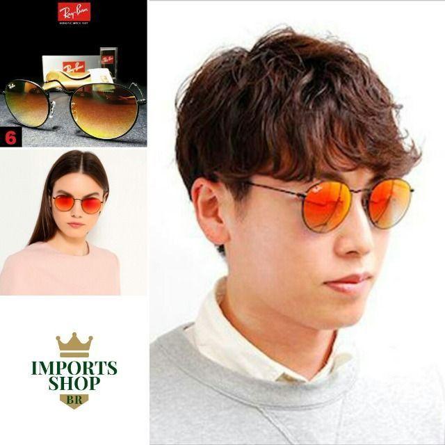 Óculos de Sol Rayban RB3447 Round com Proteção UV - Foto 6
