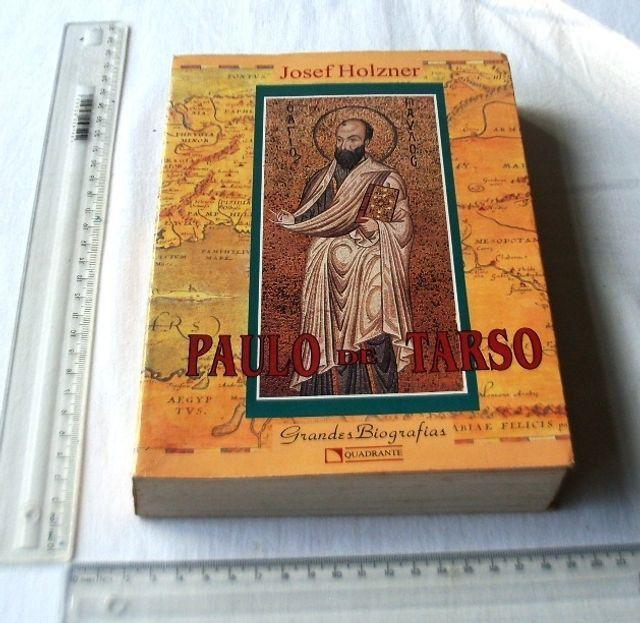 Livro Religioso - Paulo de Tarso - Grandes Biografias - Josef Holzner - 1994 - Foto 2