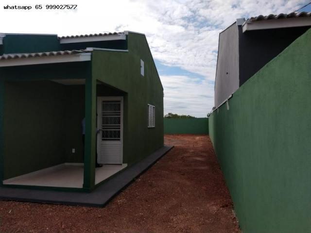 Casa para Venda em Várzea Grande, Novo Mundo, 2 dormitórios, 1 banheiro, 2 vagas - Foto 20