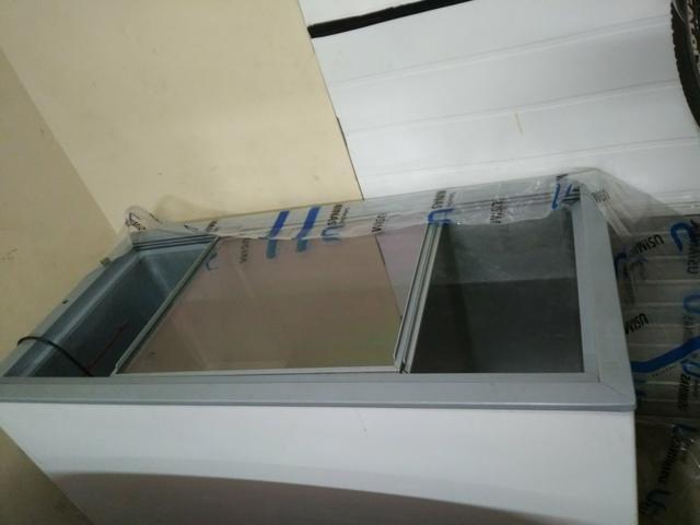 Vende se frizer gelopar horizontal gude 410 lts - Foto 5