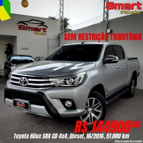 Smart Veículos - TOYOTA Hilux SRX 4x4, 16/2016, 51.256 Km. R$ 144.900,00