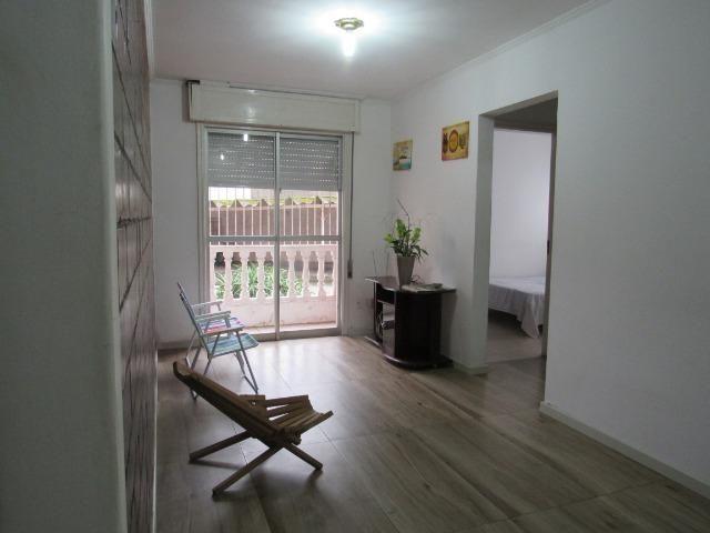 Apartamento central dois dormitórios