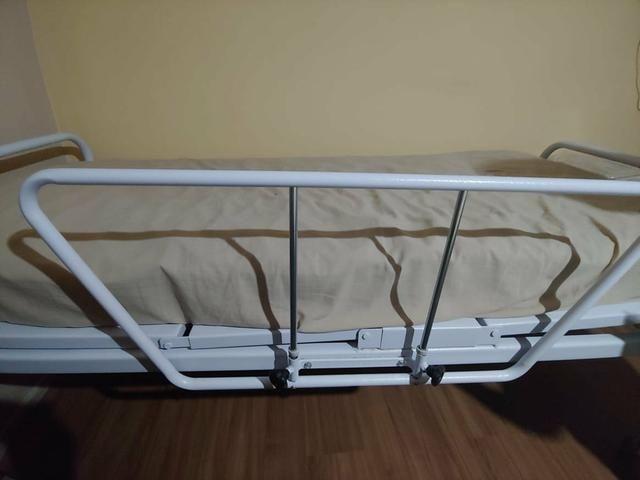 Cama reclinável com protetor e colchão massageador - Foto 6