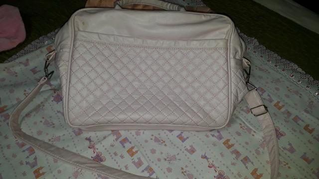Bolsa Maternidade Rosa bebê Tam. grande - Foto 2