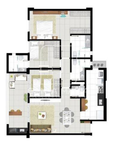 Apartamento à venda com 3 dormitórios em Bonfim paulista, Ribeirao preto cod:43677 - Foto 15