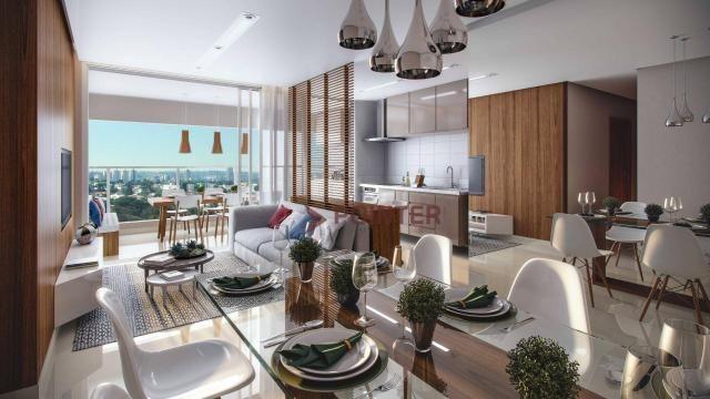 Apartamento com 3 quartos à venda, 93 m² por R$ 397.358 - Jardim Atlântico