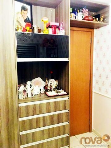 Apartamento à venda com 3 dormitórios em Parque amazônia, Goiânia cod:NOV235844 - Foto 15
