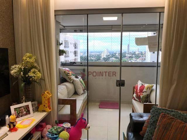 Apartamento com 3 dormitórios à venda, 84 m² - Jardim Goiás - Goiânia/GO - Foto 7