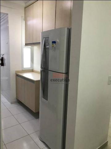 Apartamento com 1 dormitório para alugar, 57 m² por R$ 1.850,00/mês - Jardim das Colinas - - Foto 19
