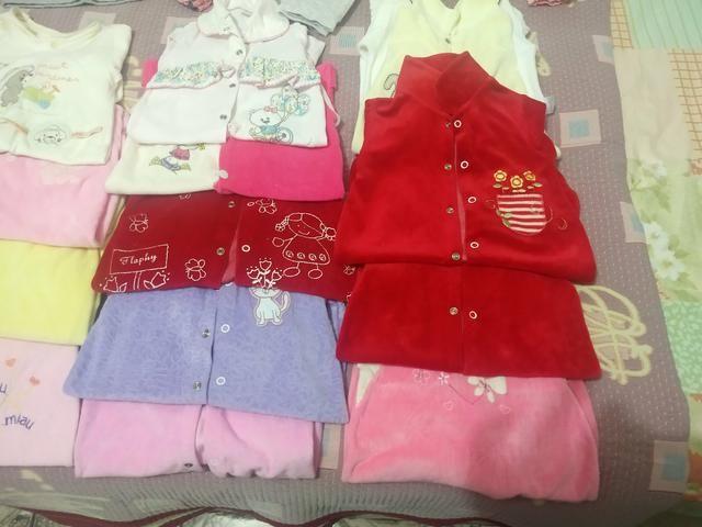 Aceito proposta . Lote de roupa menina 24 pçs - Foto 2