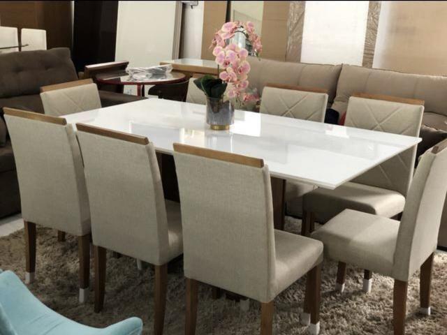Mesa sala copa e cozinha nova completa - Foto 2
