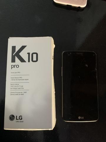 K10 preto com a tela quebrada - Funcionando - Foto 3
