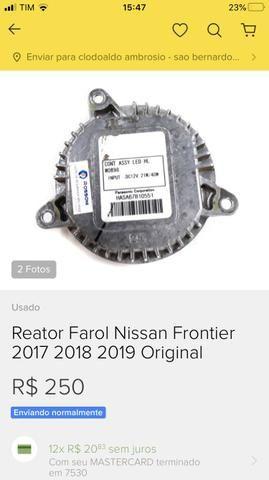 Reator farol LED XÊNON Nissan Frontier 2017 2018 2019 2020