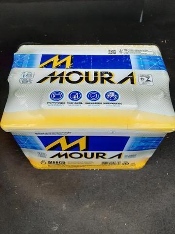 Bateria MOURA 60 amp nova lacrada - Foto 2