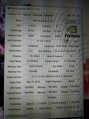 Placa de vídeo NVIDIA Geforce 210 - Foto 2