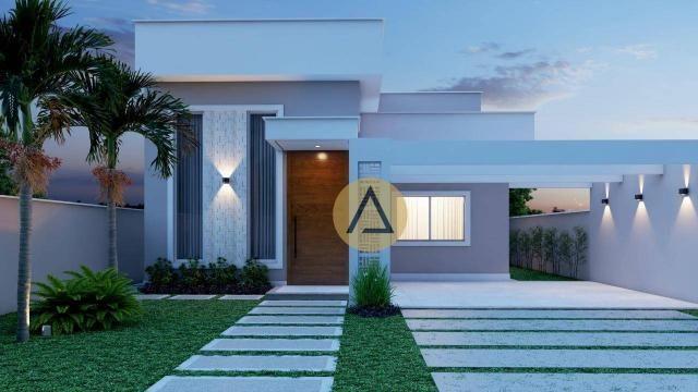 Casa com 3 dormitórios à venda, 110 m² por R$ 500.000 - Bela Vista - Rio das Ostras/RJ